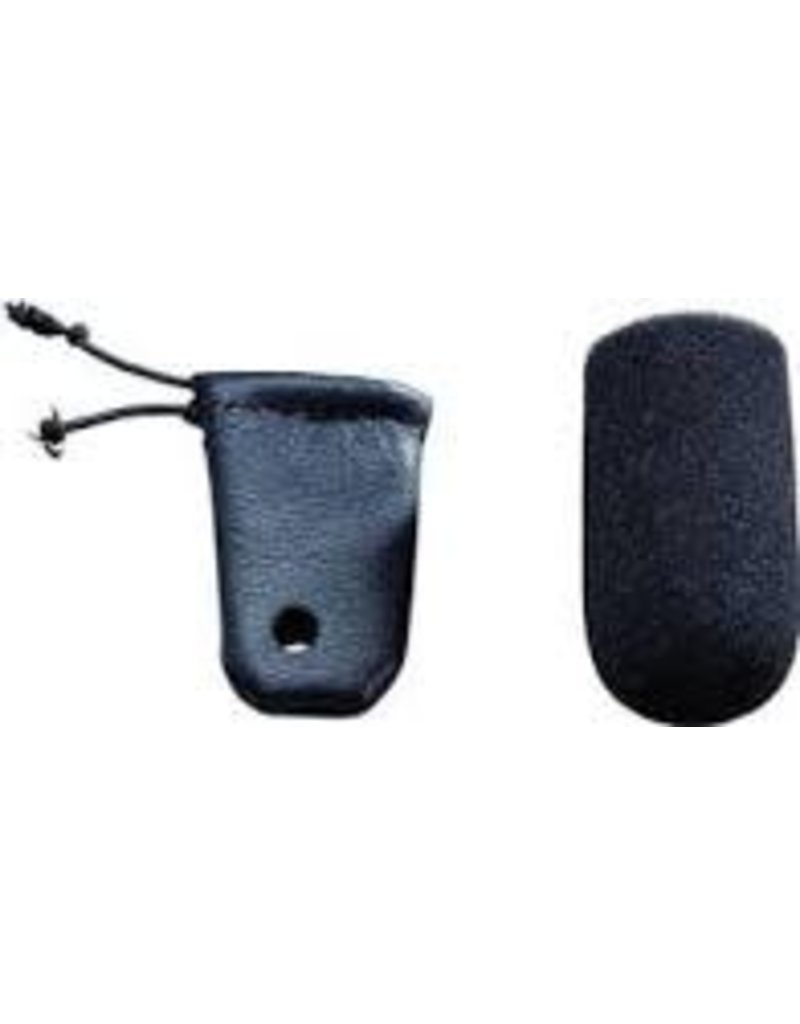 Leather Mic Muff / Cover for Dynamic Mic