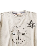 RED CANOE NORTH AMERICAN MUSTANG T-SHIRT