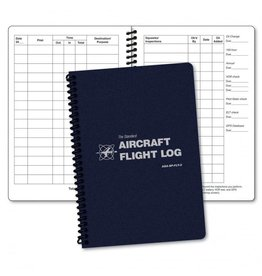 ASA Spiral Bound Aircraft Log