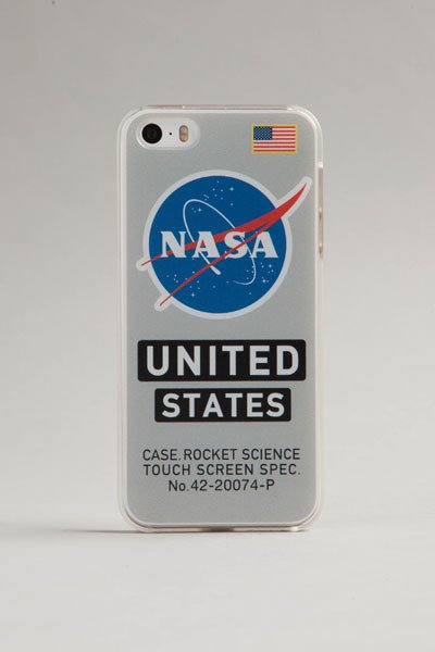 RED CANOE NASA IPHONE CASE