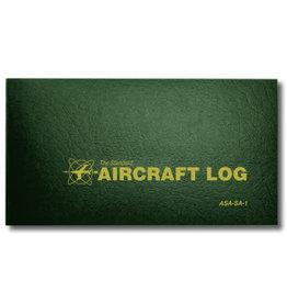 ASA AIRCRAFT LOGBOOK, SOFTCOVER - GREEN