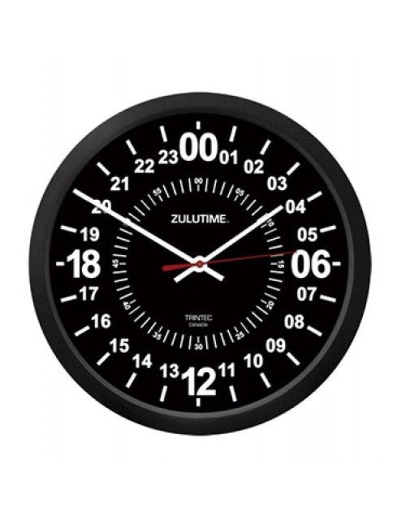 TRINTEC ZULU 24 HOUR CLOCK/BLACK 10