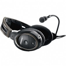 BOSE A20® Headset / No Bluetooth, battery powered, electret microphone, twin plug, straight cord