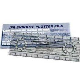 JEPPESEN IFR ENROUTE FOLDING PLOTTER PV-5