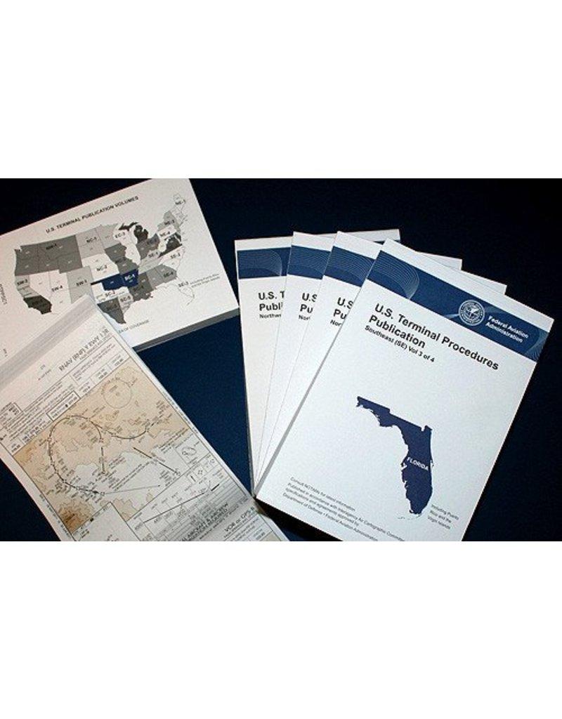 FAA U.S. TERMINAL PROCEDURES PUBLICATION Southwest (SW) Vol 3 of 4 (Bound)