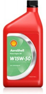 Aeroshell Aviation Oil W15W-50 per quart