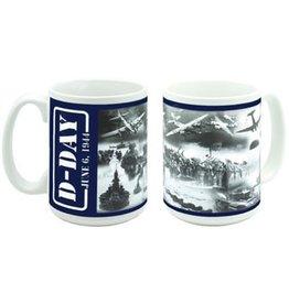 D-DAY Collage Mug