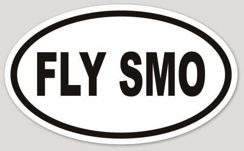 FLY SMO OVAL STICKER