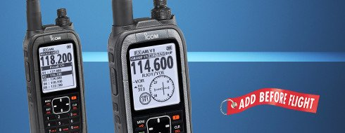 ICOM A-25N HANDHELD TRANSCEIVER RADIO