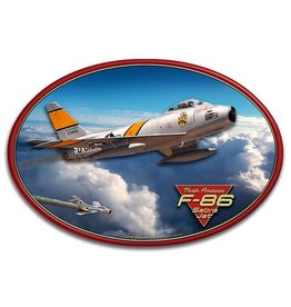 North American F-86 Sabre Jet 3D Sign