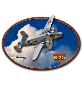 North American B-25 Mitchell Bomber 3D Sign