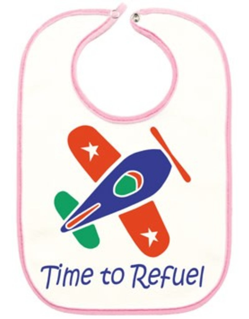 PINK AIRPLANE Bib