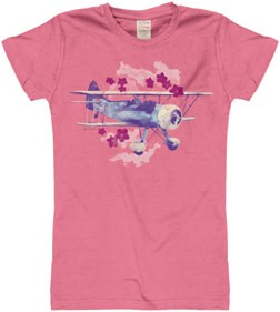 Caribbean Biplane Youth T-Shirt.