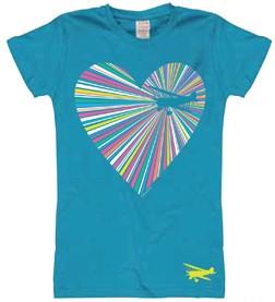 HEARTSHINE AIRPLANE Youth T-Shirt.