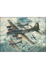 Fortresses Engaged 1985 Lithographic Print by Keith Ferris