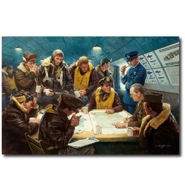 AFTER THE MISSION, A Limited Edition Art Print, signed by artist Gil Cohen 220/850