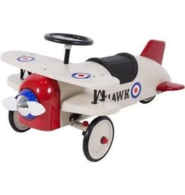 Bi-Plane Metal Pedal Car Kids Outdoor Toy