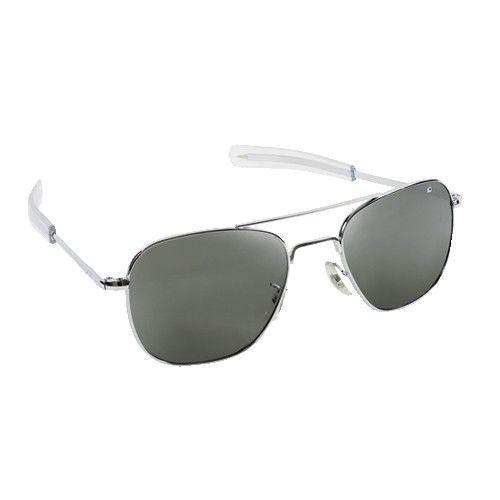 66d506b1c3f8a AO Eyewear Original Pilot Silver Sunglasses - Pilot Outfitters