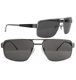 Scheyden Fixed Gear C-130 Sunglasses - Titanium with Grey Lens