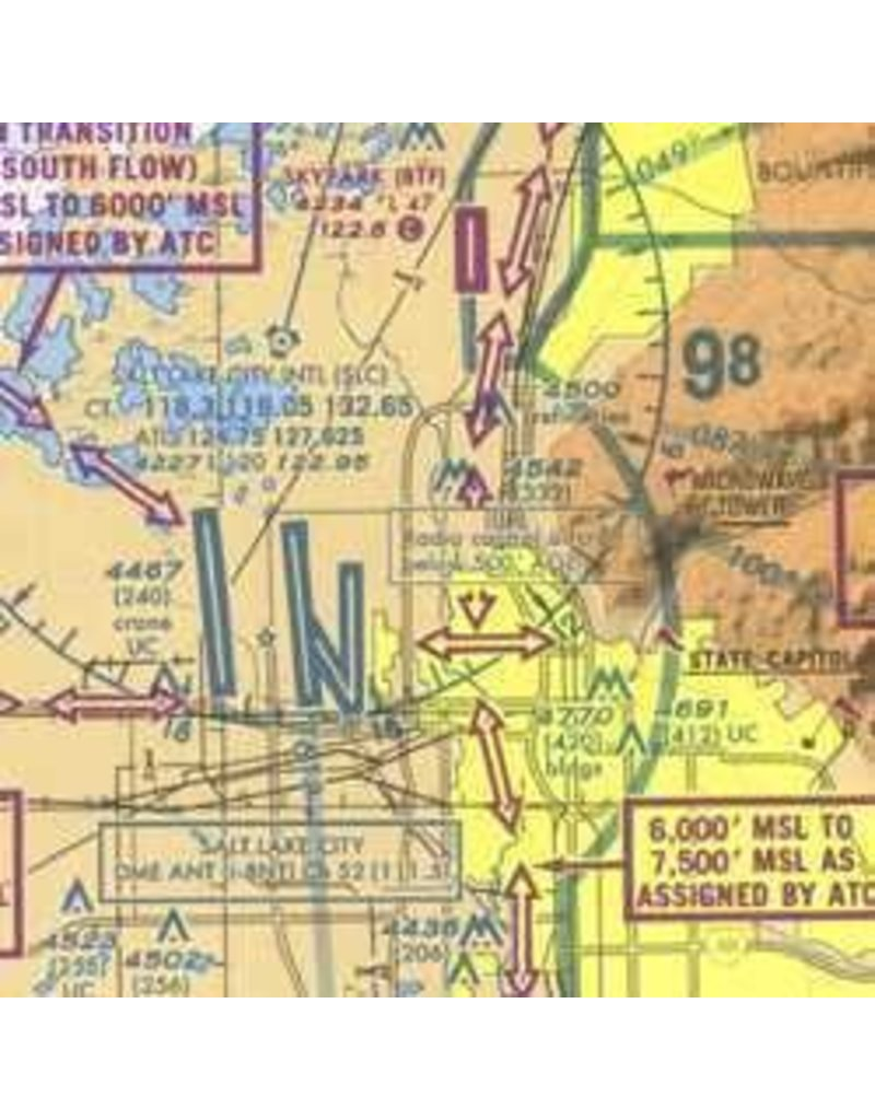 FAA GRAND CANYON VFR AERONAUTICAL CHART