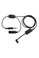 GoPro HERO 5, 6, 7, 8, 9 Audio Recorder Headset Adapter - Fixed Wing