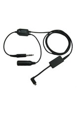 GoPro HERO 5, 6, 7 Audio Recorder Headset Adapter - Fixed Wing