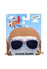 VINTAGE AVIATOR SUN-STACHES