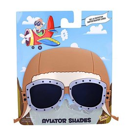 VINTAGE AVIATOR SUN-STACHES