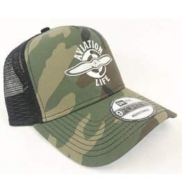 AVIATION LIFE TRUCKER HAT, CAMO