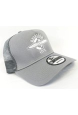 AVIATION LIFE TRUCKER HAT, GRAY