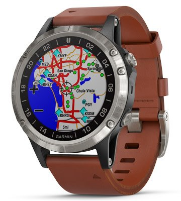 b268040b1f1 Garmin D2 Delta Pilot Watch - Pilot Outfitters