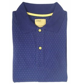 AGENTS CLOTHES, MENS POLO SHIRT, NAVY