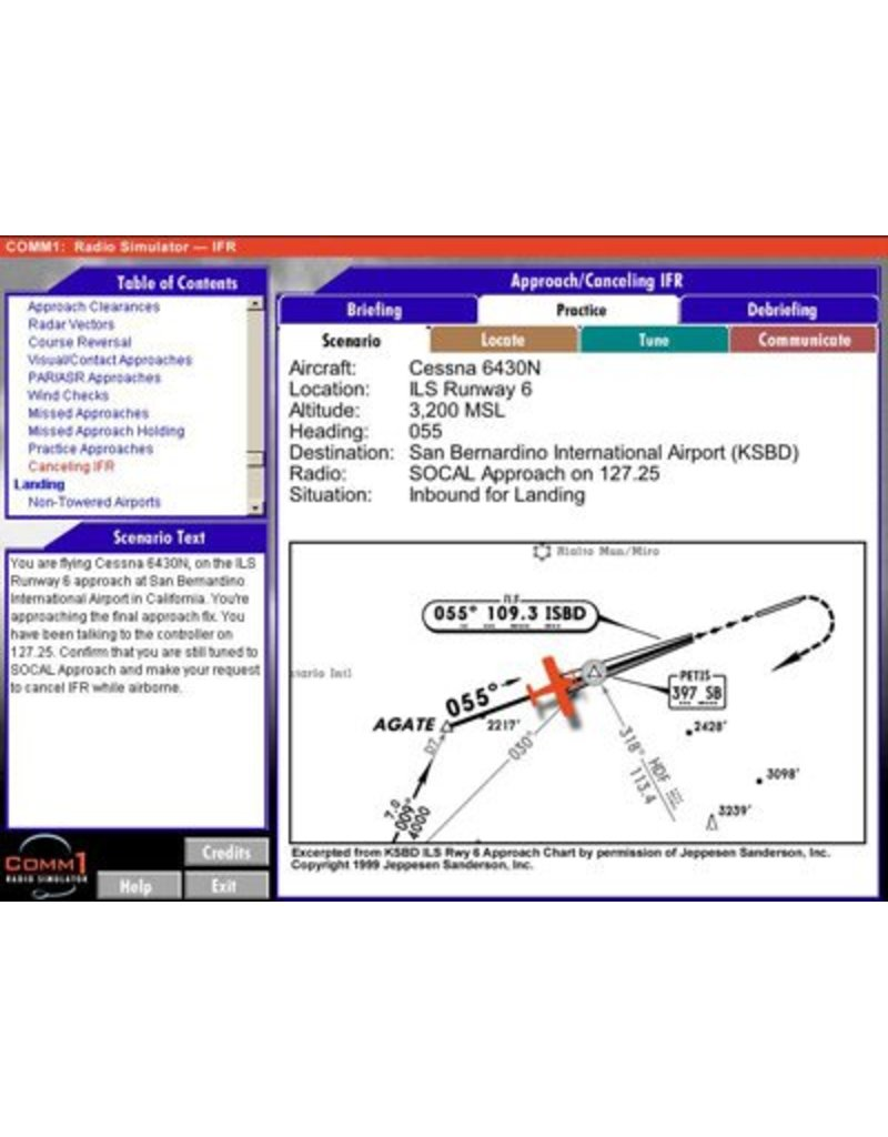 Comm1: IFR Radio Simulator CD-Rom