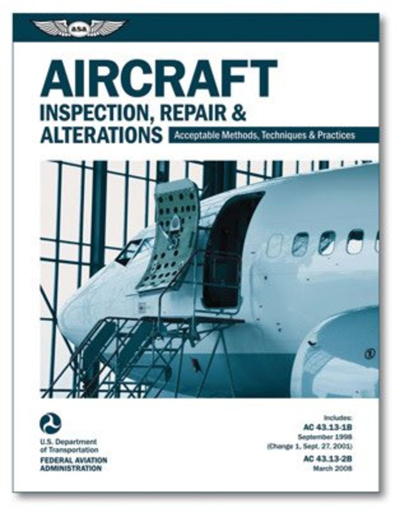 ASA Aircraft Inspection, Repair & Alterations