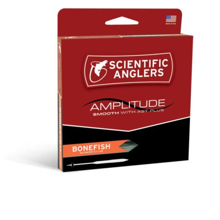 Scientifc Anglers S/A Amplitude Smooth Bonefish WF8F Blk/Surf/Ivr