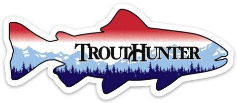 Small TH Idaho Plate Fish Sticker - Free