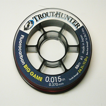 TroutHunter Products TH Big Game Fluorocarbon Spools - 50m
