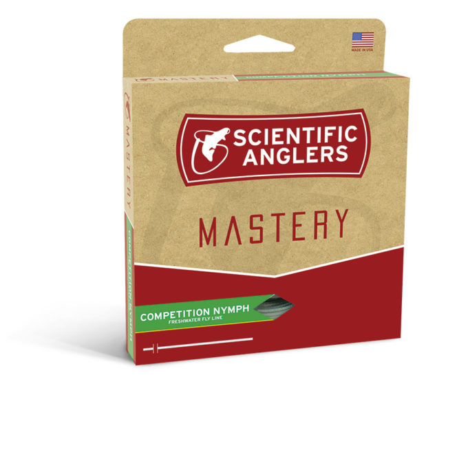 3M Scientifc Anglers S/A Mastery Competition Euro Nymph Line