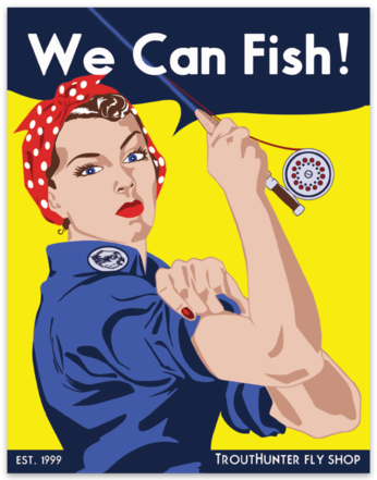 """""""We Can Fish"""" Sticker"""