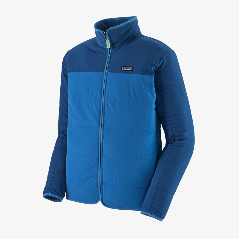 Patagonia Patagonia M's Pack In Jacket - Superior Blue - Small