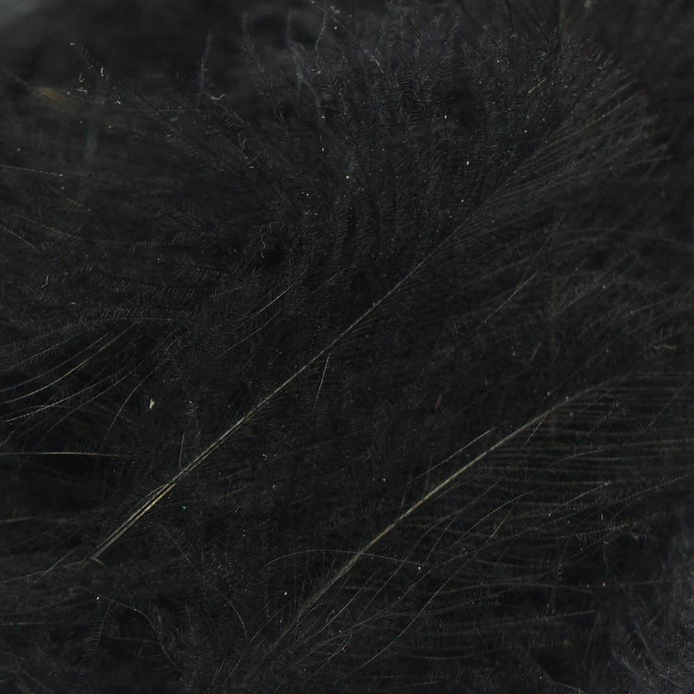 TroutHunter Products TroutHunter CDC Puffs - Black - Bulk 3.5g