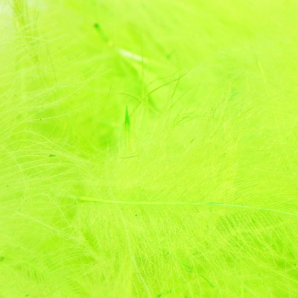 TroutHunter Products TroutHunter Premium Dyed CDC - Chartreuse - Bulk 3.5g