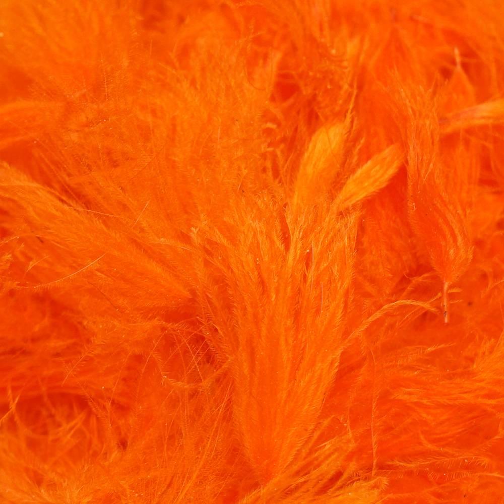 TroutHunter Products TroutHunter CDC Puffs - Fluorescent Orange - Bulk 3.5g