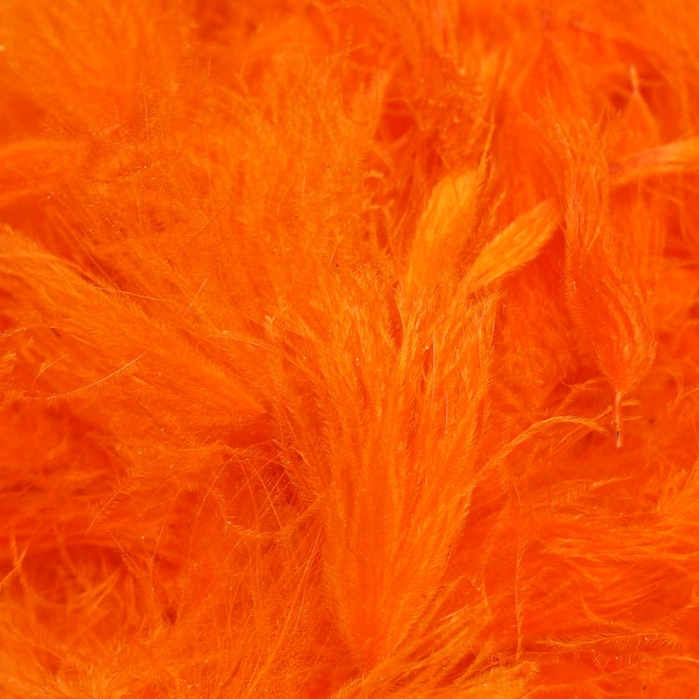 TroutHunter Products TroutHunter CDC Puffs - Fluorescent Orange - Small .5g
