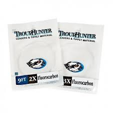 TroutHunter Products TroutHunter Fluorocarbon Leader - 9 ft