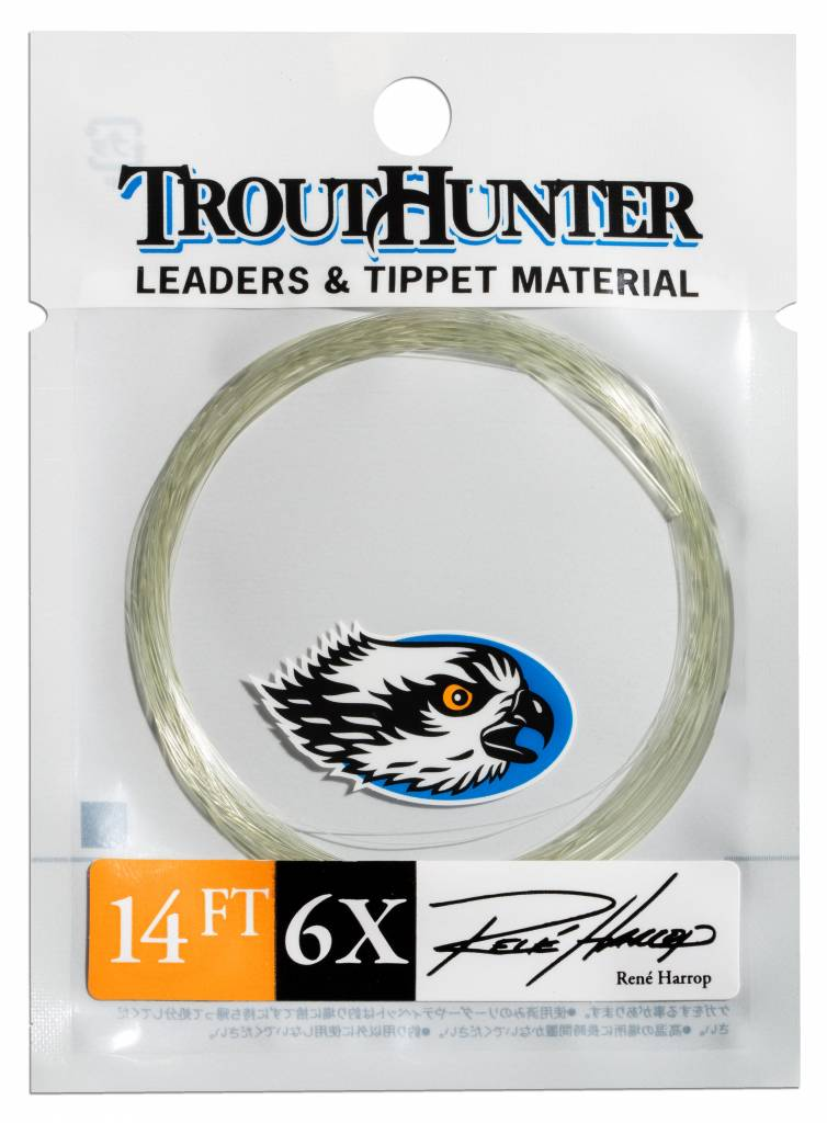 TroutHunter Products TroutHunter Rene Harrop Signature Leader - 14 ft