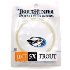 TroutHunter Products TroutHunter Nylon Leader - 10 ft