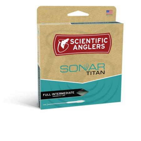 Scientifc Anglers S/A Sonar Titan Taper Intermediate WF6I - Blue/Pale Green