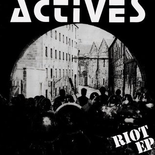 Puke N Vomit Records Actives ‎– Riot E.P. / Wait & See E.P.
