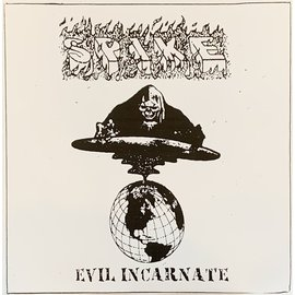 "Roachleg Records Spike - Evil Incarnate 7"" Flexi"